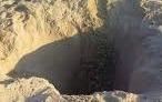 beach hole
