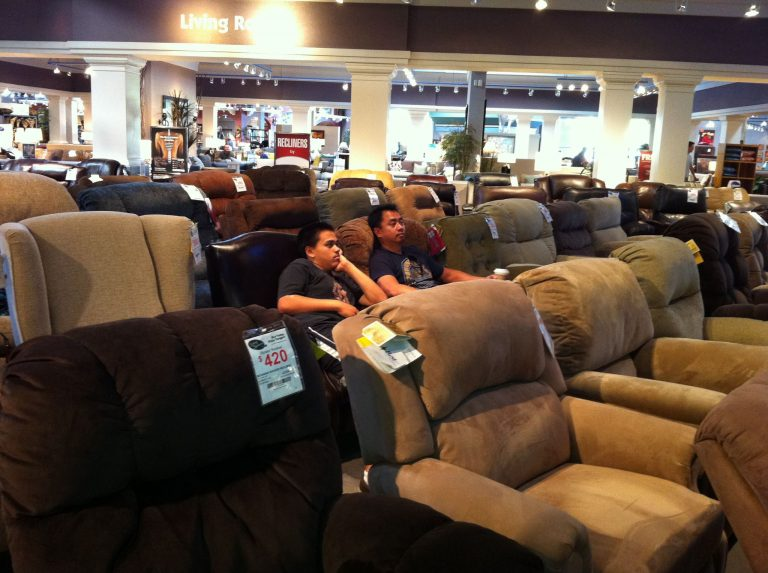 Men And Furnishing The House