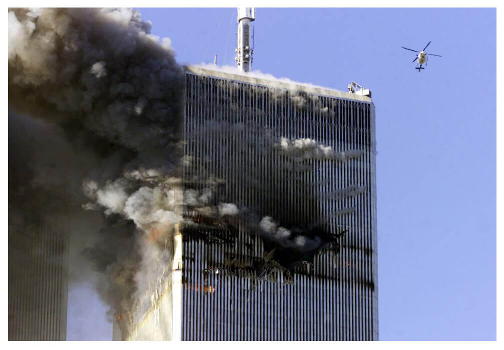 The disaster that happened on 9/11 is soemthing none of us were prepared for.