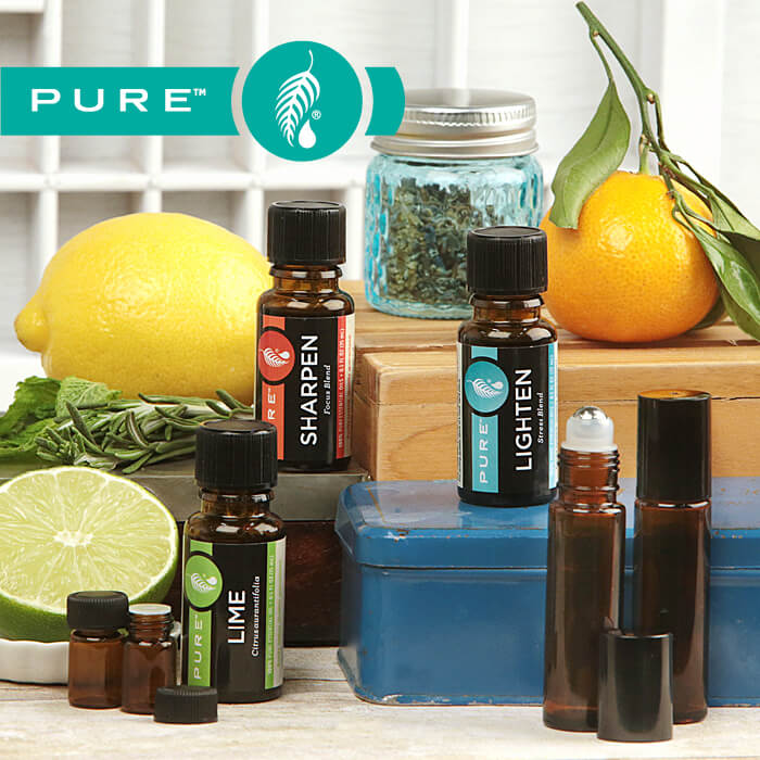 Melaleuca PURE Essential Oils are defined by their uncompromising quality, purity and aromatic excellence. For three decades, Melaleuca has set the standard of quality for Melaleuca essential oil. Now we're extending that standard to an entire line of all PURE Essential oils. 100% pure oil extracted directly from the botanical plant source Certified to contain NO synthetics or impurities Tested to meet stringent quality specifications every time Each oil is traceable to its source Harvested using sustainable and ethical practice