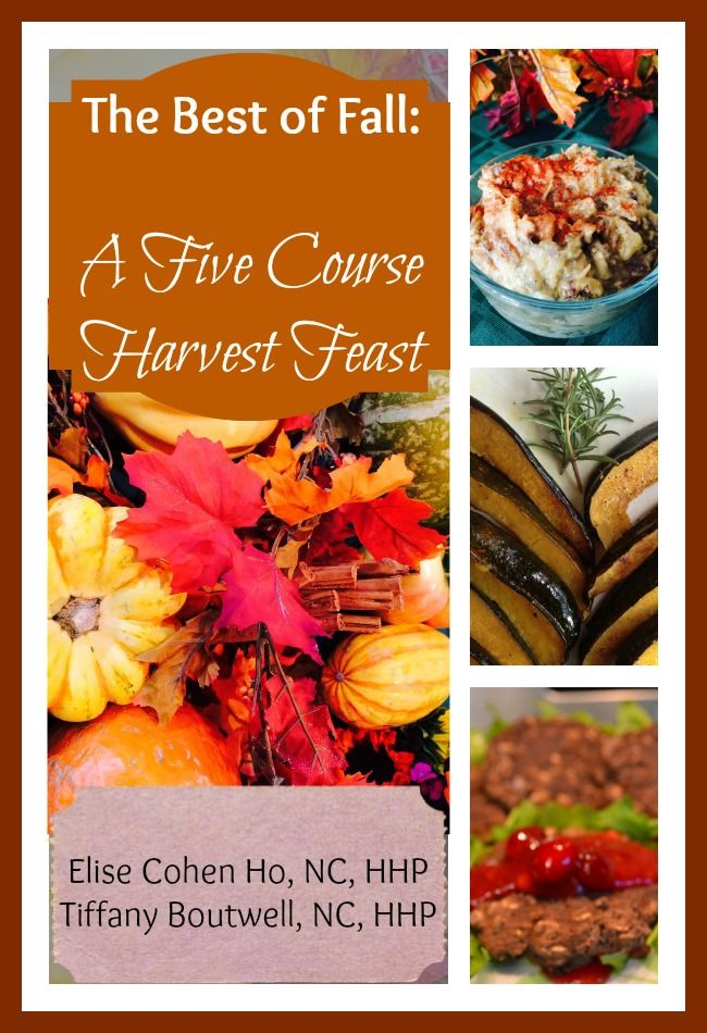 the best of fall cookbook a five course harvest feast