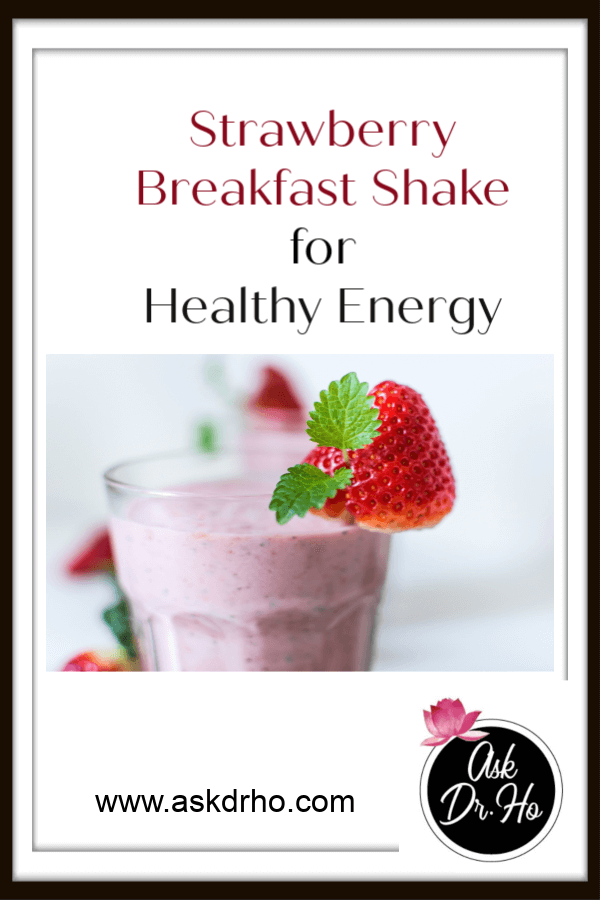 A Healthy Strawberry Breakfast Shake is a wonderful way to kick off your day with a boost of satisfying energy