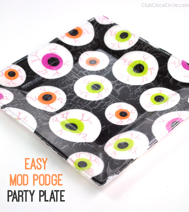 For some fun and easy to create plates. Check out this great idea at Club Chica Circle.
