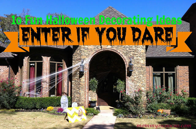 And then check out 10 More Decorating Ideas for Halloween.