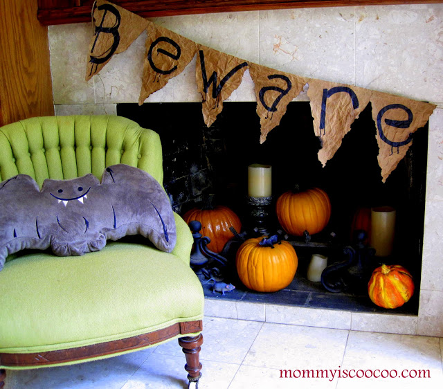 Do check out Mommy is Coo Coo's complete post on halloween decor as there are 10 fabulous ideas waiting there for you!