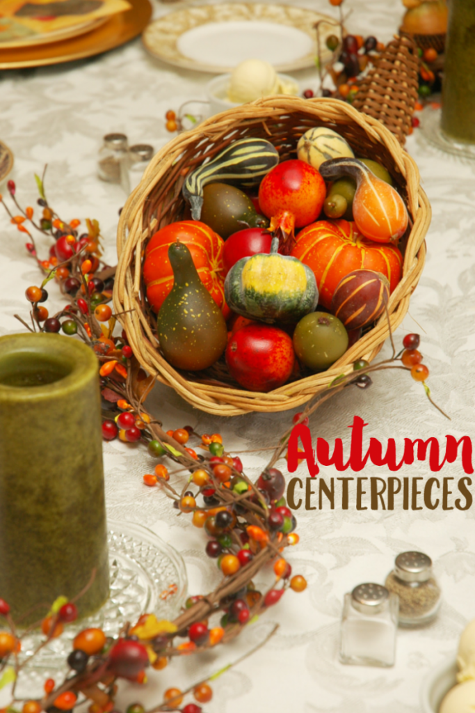This awesome post from Krystal's Kitsch is full of fun, easy and affordable ceenterpeice ideas for fall and Thanksgiving.