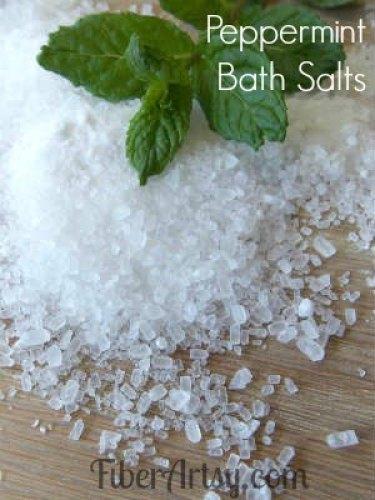 peppermint bath salt