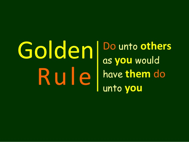 In discussing this section of the book I think it is first important to look at our roles in showing appreciation. If we do not do this we are missing out on following the golden rule.