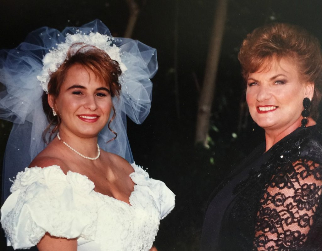 Mother and Daughter ~ July 18, 1993