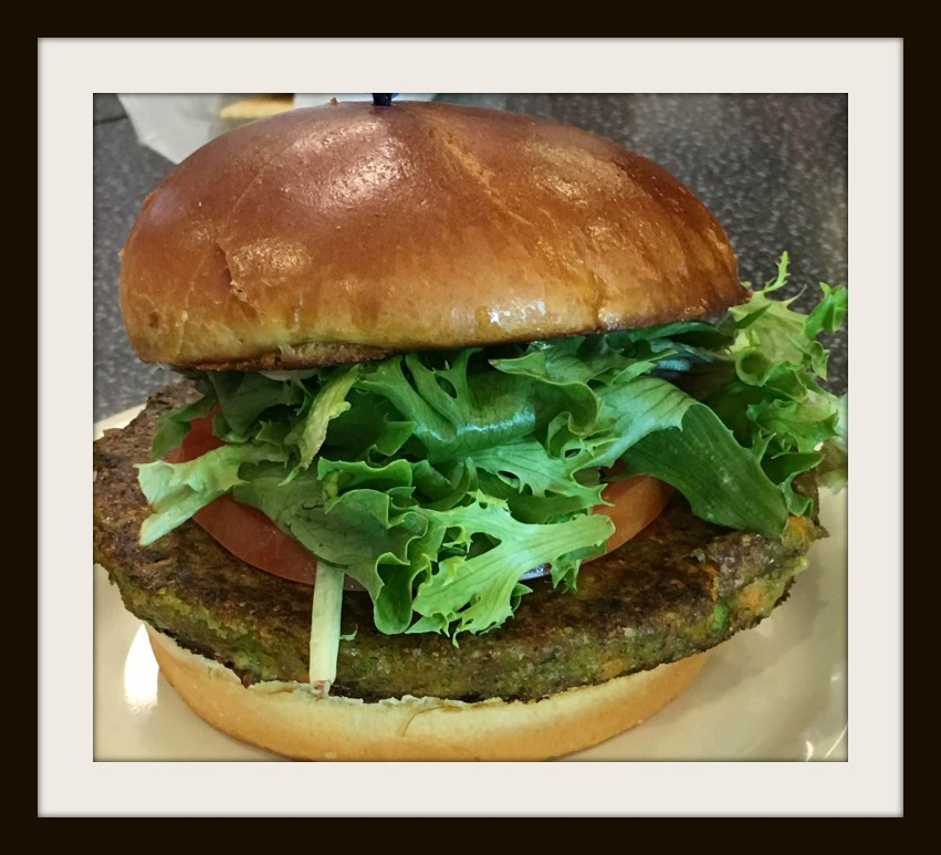 I do not know which burger will win but I do know that whatever burger it is it will be served on a Brioche bun with greens, tomato and vegan mayo. Do note that the burger will be vegetarian, not vegan.