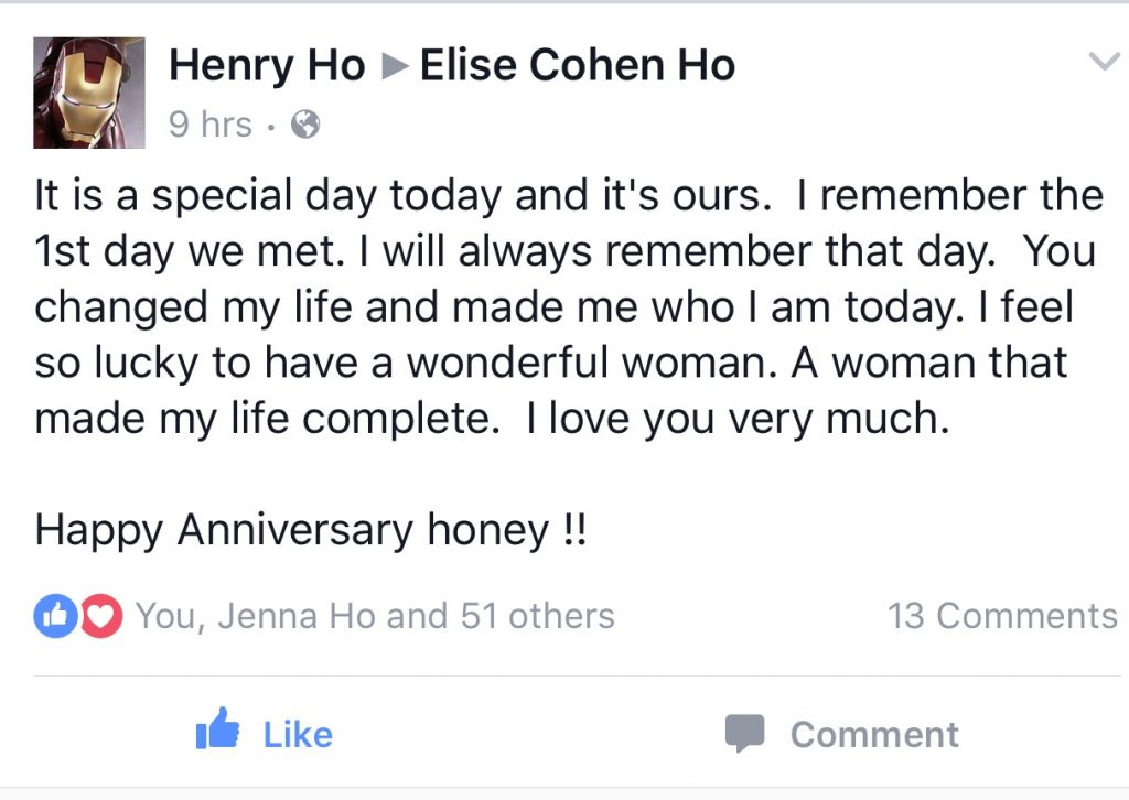 Happy Anniversary and a love message