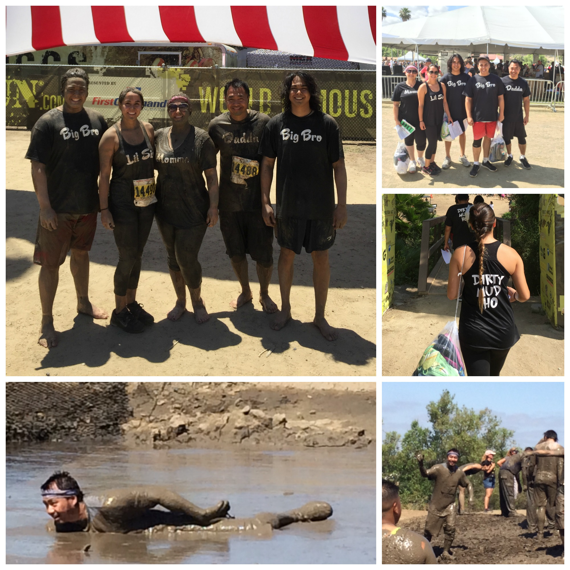 Camp Pendleton Mud Run. A fun adventure for the whole Ho family.