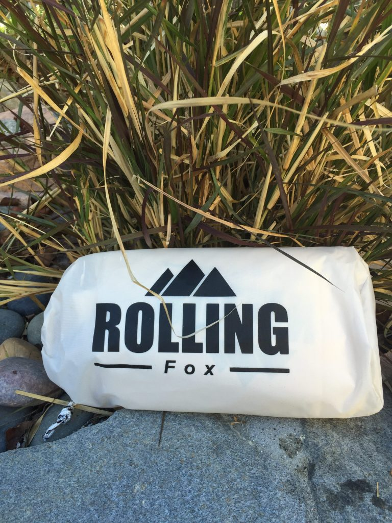 Confession time...I am not a backpacker! However, I was intrigued by the Rolling Fox Tent Tarp, what it can be used for and if it was truly easy to use.