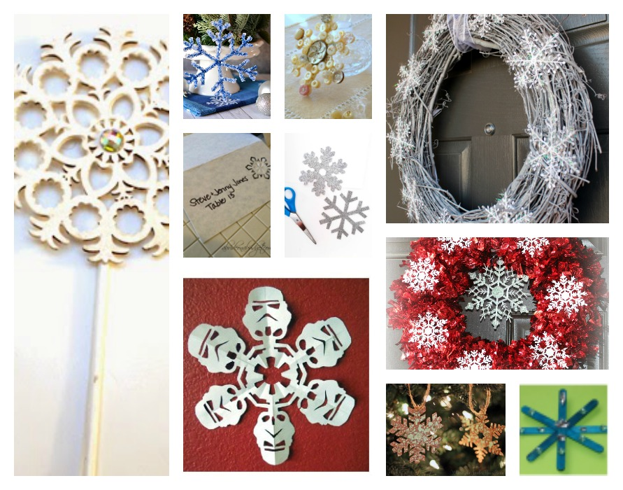 10 Snowflake Crafts To Encourage Family Time