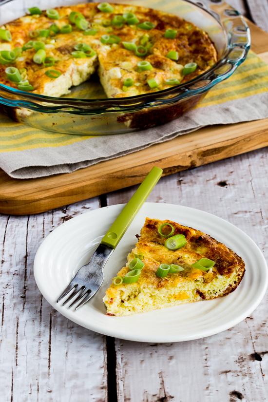 This Low-Carb Cheesy Crustless Quiche Lorraine from Kalyns Kitchen is a great gluten free addition to our Christmas Brunch