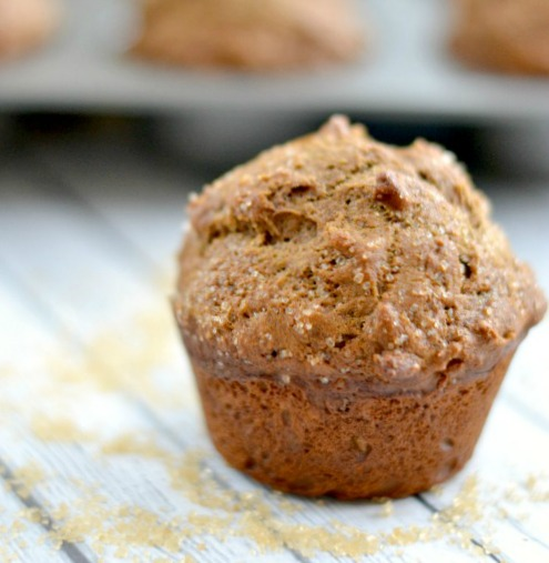 Our Christmas Brunch recipes include these Gingerbread Muffins that have a healthy twist brought to us by To Simply Inspire
