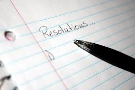I do not make New Year Resolutions.