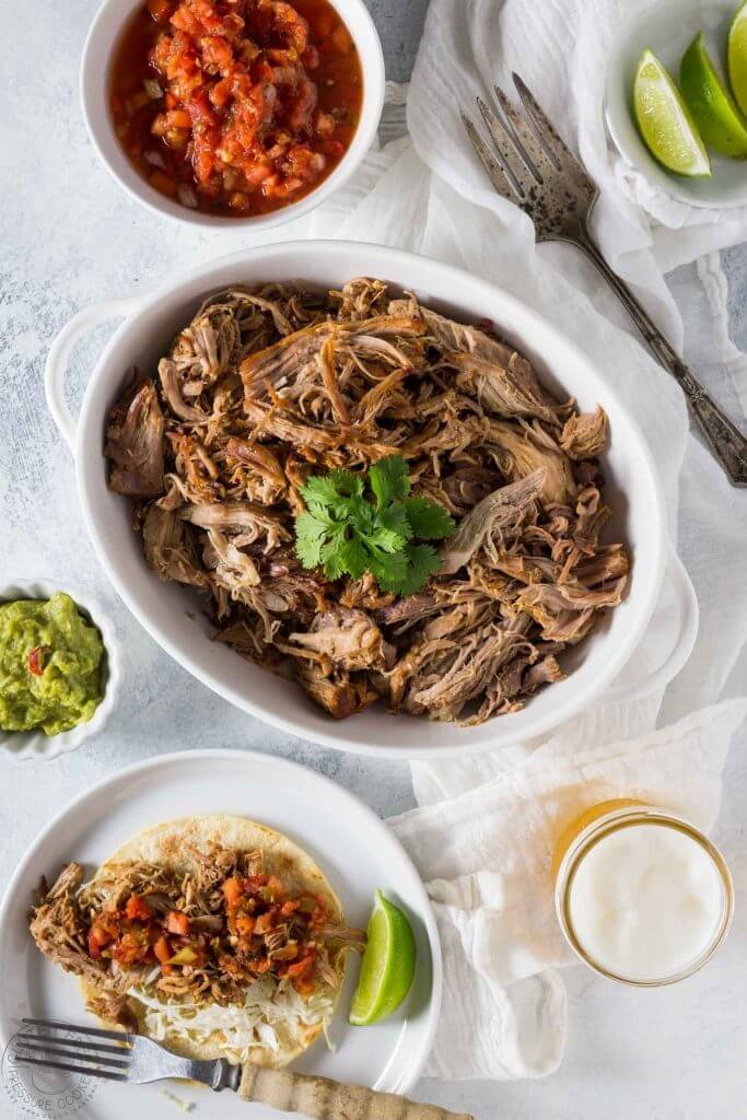 Gluten Free Pressure Cooker Pulled Pork Carnitas are high on the hubby's list of things to try