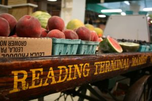 Check out Reading Terminal Market. Food from around the world waits for you beneath Reading Railroad's 1891 train shed.