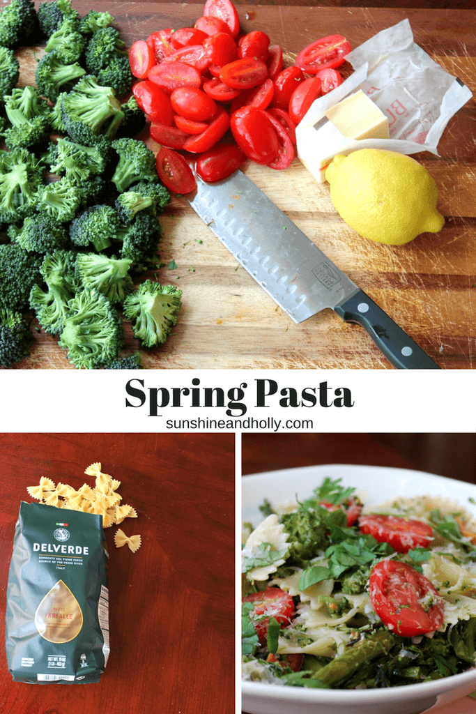 Spring Pasta was a favorite in my home. Holly (of Sunshine and Holly) makes her asparagus similar to the way I do and I loved the addition of broccoli and peppers.