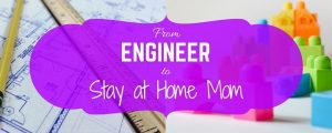 Please welcome guest blogger, Kristy of From Engineer to SAHM
