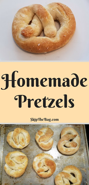 I absolutely had to highlight the perfect Homemade Soft Pretzel from Katy at Skip The Bag. A really great pretzel is one of my favorite things to eat even though it is not the best for me. Final Foodie Friday Food