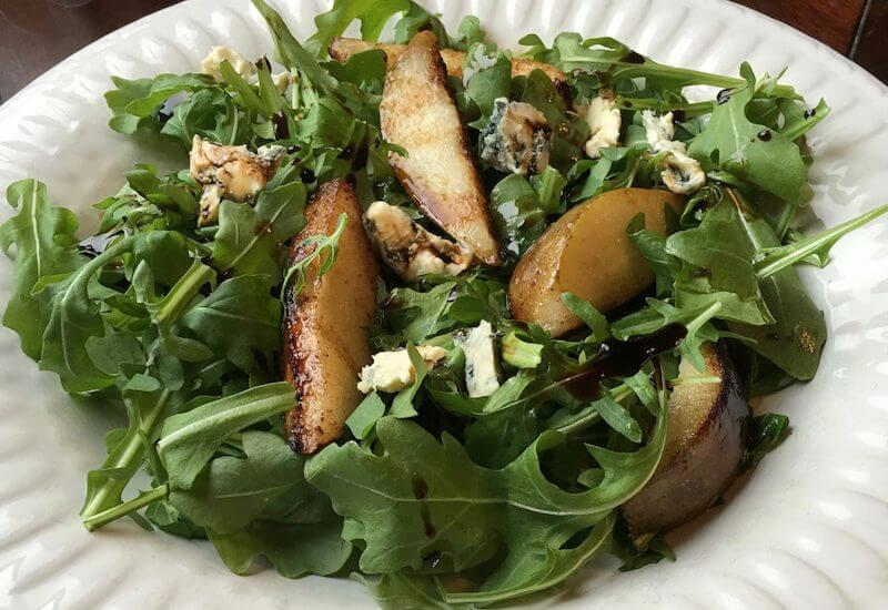 Roasted Pear Salad is yet another example of simple ingredients yielding outstanding results.