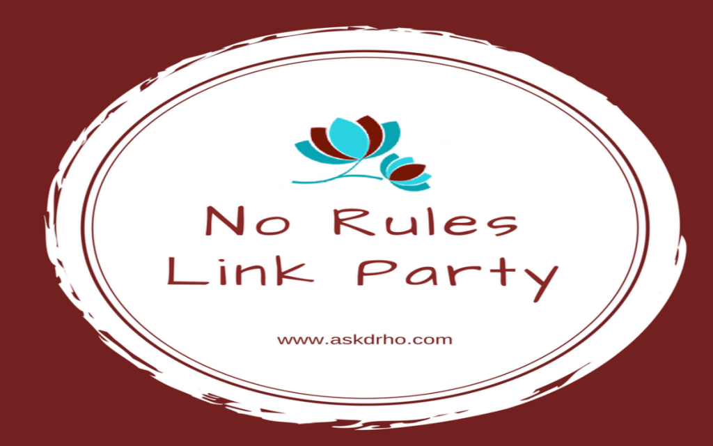 The No Rules LinkUp Party means that it is time to share your blog posts with NO RULES or limitations. However, it is appreciated if you comment on at least one or two posts for every post that you link up.