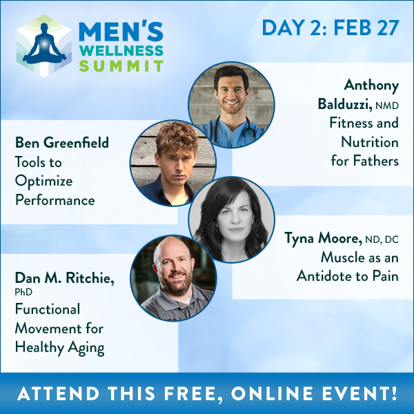 Men's Wellness Summit Banner