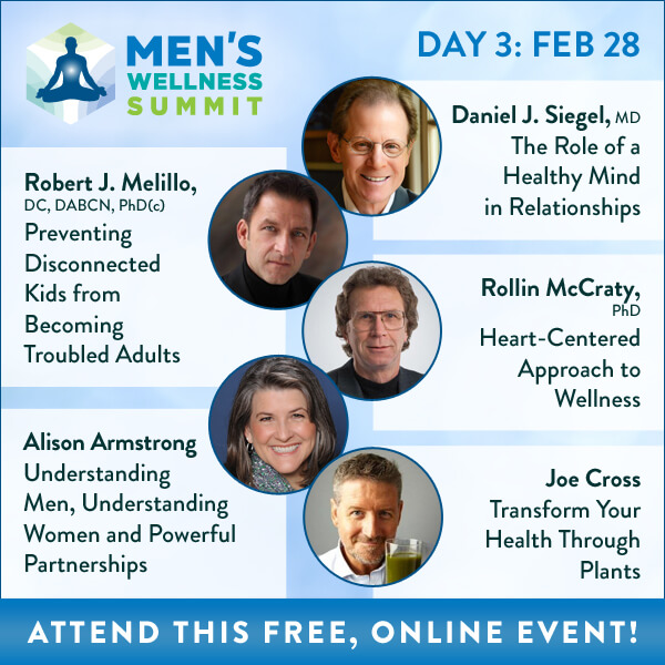 Men's Wellness Summit Banner