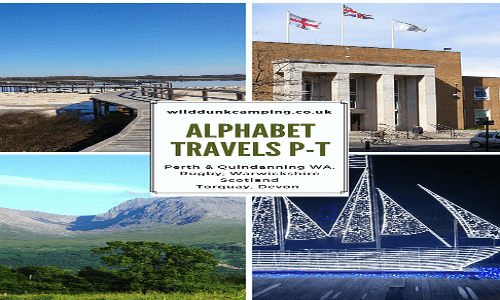 Alphabet Travels P to T