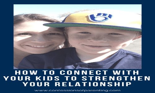 3 Surprisingly Simple Steps to Connect with your Child