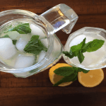 With a delicious homemade lemonade, you can determine exactly how much sugar you have and what type of sugar.