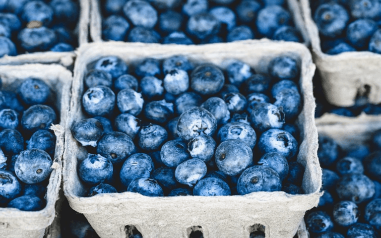In terms of fruit, blueberries are among the top superfoods to eat when you have vision problems. With blueberries, you have a powerful antioxidant, but also a superfood with anti-inflammatory properties. This can help strengthen your eyes, improve the flow of blood to the backs of your eyes, and help with age-related eye conditions