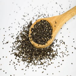Chia seeds are often found on most superfoods lists, and that is because of the important nutrients they contain. Chia seeds are high in antioxidants and can help get rid of free radicals in your body. This will help to strengthen the cells in your eyes, including protecting the lens and retina. There are also some fatty acids in chia seeds, which as you know help not just your eye health, but your entire body.