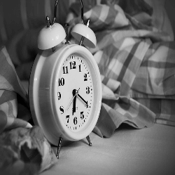 """A blog post by Guest Blogger, Jenna Jamieson. """"I've been dealing with a lot of stress at work. I should just skip an hour of sleep for a few nights and get this stuff done."""""""