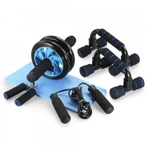 5 in 1 Home Workout Equipment Set This is a great set for a full body workout.