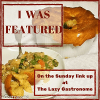 Lazy Gastronome Recipe Link Up