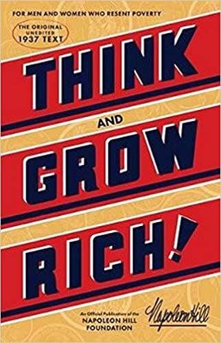No list on making money, getting rich, or increasing your wealth is complete without the classic Think and Grow Rich from Napoleon Hill. Buy the classic HERE. #ad https://amzn.to/2ShFV98