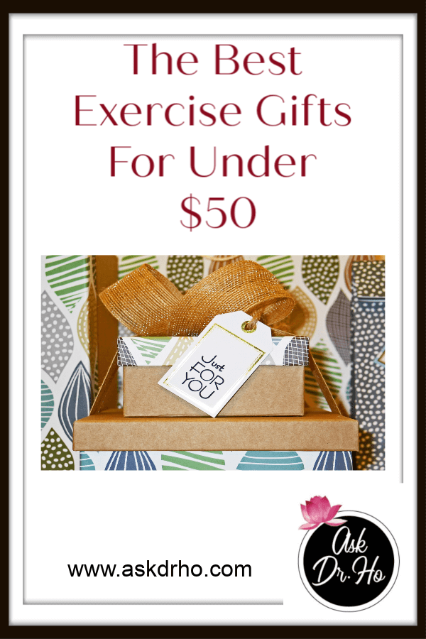 Check out these Exercise Gifts. They are all under $50 #giftideas