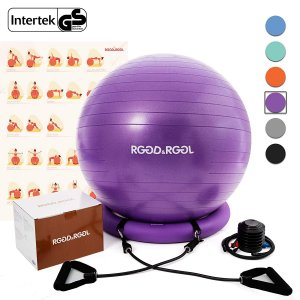 A yoga ball makes an excellent gift for someone who wants to be able to get a great workout in the comfort of their own home.