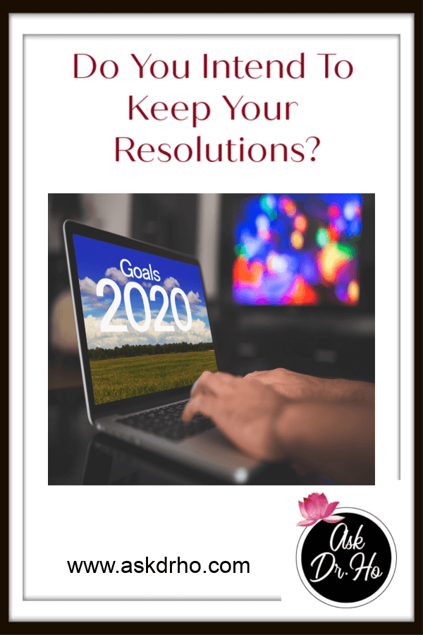 We are just days into the New Year and many folks have already allowed their New Year resolutions to fall by the wayside. Do you intend to keep yours?
