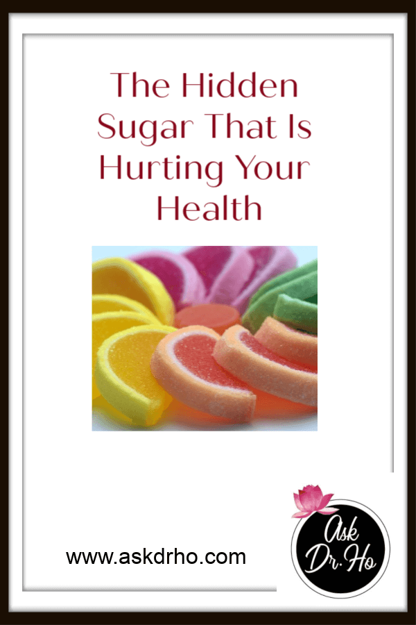 The Hidden Sugar That Is Hurting Your Health