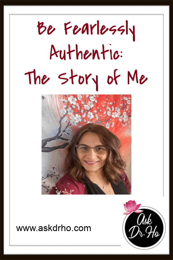 Being authentic and fearless