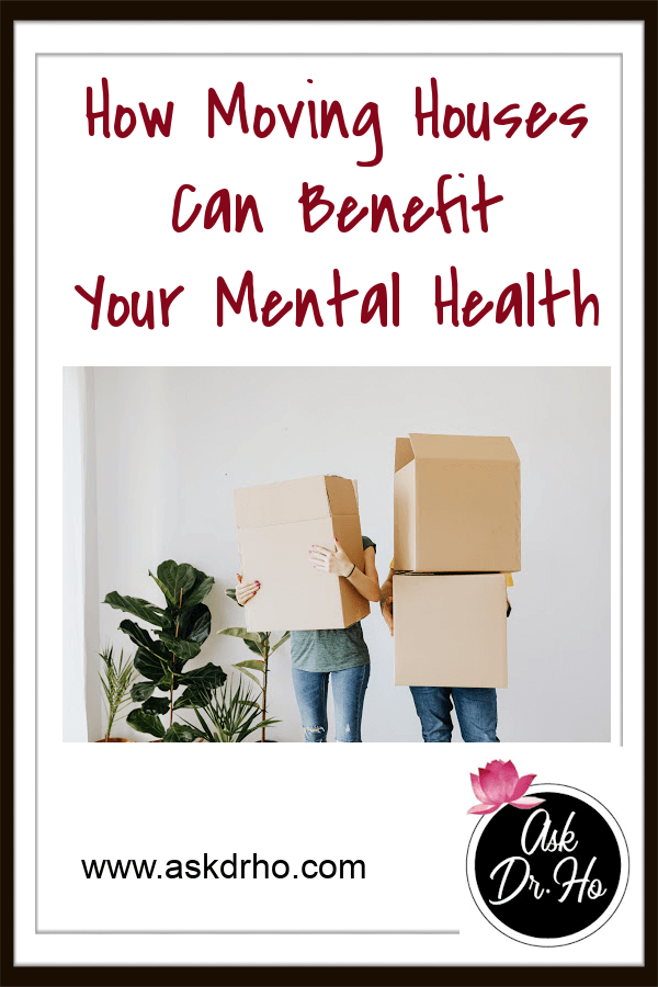How Moving Houses Can Benefit Your Mental Health