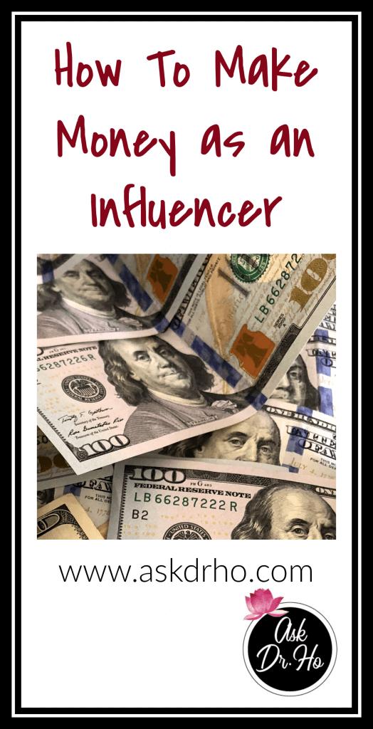 How To Make Money as an Influencer